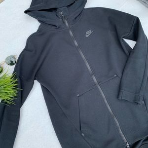 Nike Hooded Zip-Up (Black)